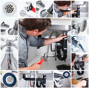 plumbing services collage